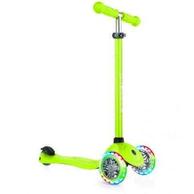 ⇨ Детские велосипеды | Самокат-трайк Globber Primo Lights Зеленый (423-106-3) в интернет-магазине електроники ▻ ONETECHNO ◅