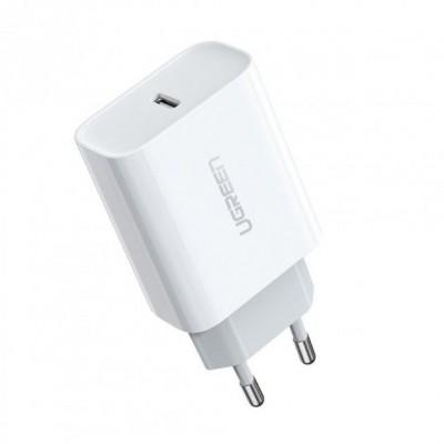 Сетевое зарядное устройство UGREEN CD137 Fast Charger White (60450)