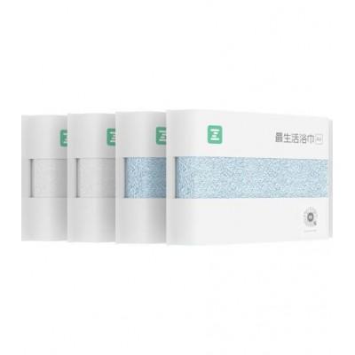 Набор полотенец Xiaomi ZSH Face & Bath Towels (White, Blue)