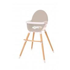 Крісло для годування універсальне Hochstuhl UNO (світло-сіре)