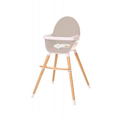 ⇨ Коляски и автокресла | Крісло для годування універсальне Hochstuhl UNO (світло-сіре) в интернет-магазине електроники ▻ ONETECHNO ◅