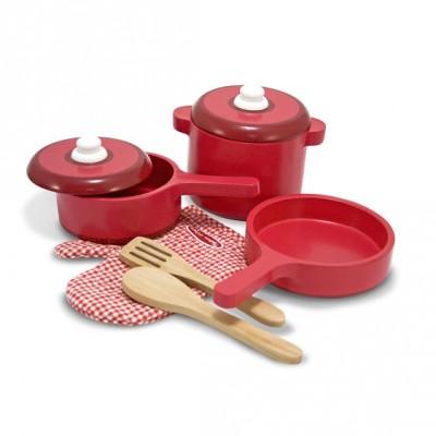 Ігровий набір дерев'яного посуду Melissa&Doug (MD12610)