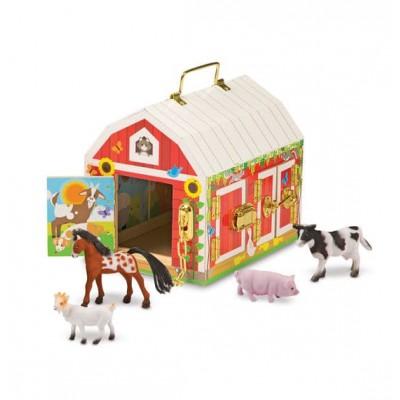 Будиночок-сарай із засувками і тваринами Melissa&Doug (MD2564)