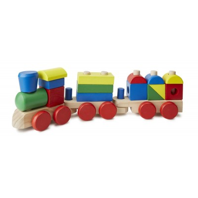 Дерев'яний поїзд з кубиків Melissa&Doug (MD572)
