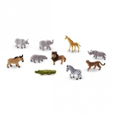 Ігровий набір диких тварин, 10 штук Melissa&Doug (MD593)