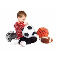 Набір спортивних плюшевих м'ячиків Melissa&Doug (MD2179)