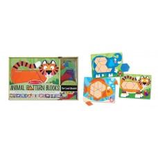 """Дитяча дерев'яна мозаїка """"Тварини"""" Melissa&Doug (MD4382)"""