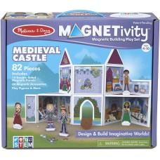 """Ігровий магнітний набір """"Середньовічний замок"""" Melissa&Doug (MD30662)"""