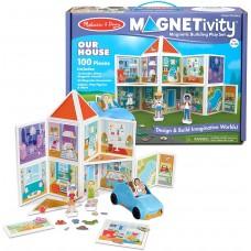 """Ігровий магнітний набір будівель """"Наш дім"""" Melissa&Doug (MD30650)"""