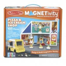 """Ігровий магнітний набір """"Магазин піци та морозива"""" Melissa&Doug (MD30658)"""