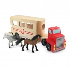 Іграшковий автомобіль-причіп для коней Melissa&Doug (MD14097)