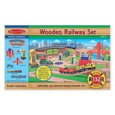 Дерев'яна дитяча залізниця Melissa&Doug (MD701)