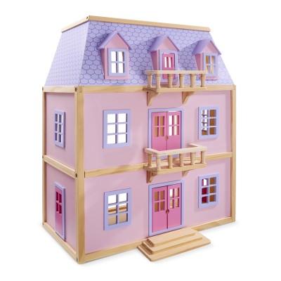 Багатоповерховий дерев'яний ляльковий будиночок Melissa&Doug (MD4570)
