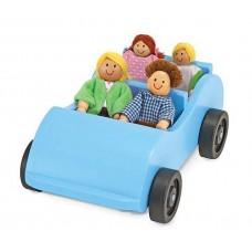 """Ігровий набір """"Дорожня машинка з ляльками"""" Melissa&Doug (MD2463)"""