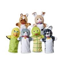 """Великий ляльковий театр """"Домашні тварини"""", 6 штук Melissa&Doug (MD9119)"""
