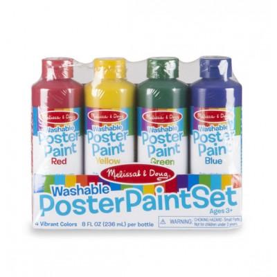 Набір плакатних фарб, 4 кольори Melissa&Doug (MD4127)
