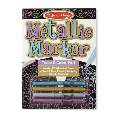 Набір для малювання з металік-маркерами Melissa&Doug (MD9320)