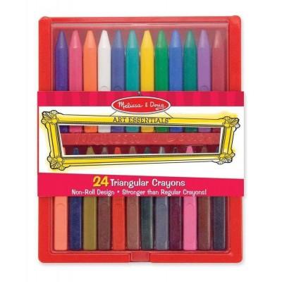 Крейда полімерні, 24 кольора  Melissa&Doug (MD4136)