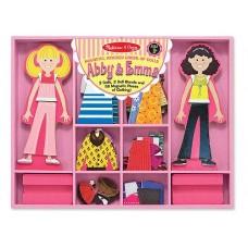 """Магнітна вдягалка середня """"Еббі і Емма""""Melissa&Doug (MD4940)"""