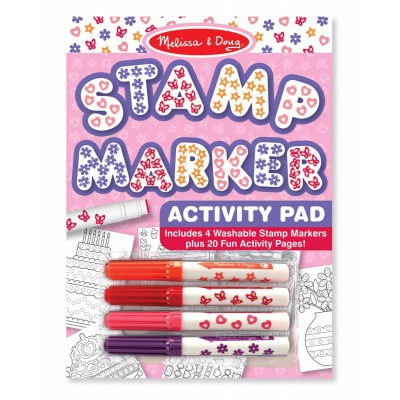 Штампики-маркери для дівчаток, 4 штуки  Melissa&Doug (MD2421)