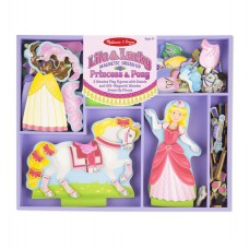 """Магнітна вдягалка """"Принцеса і кінь"""" Melissa&Doug (MD9281)"""