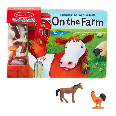 М'яка книга з ігровими фігурками сільськогосподарських тварин (MD31285)
