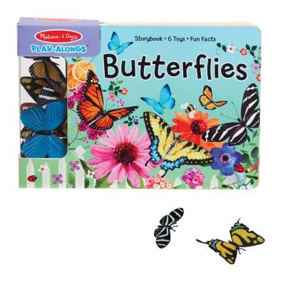 М'яка книга з ігровими фігурками метеликів (MD31281)