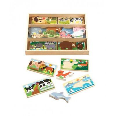 Набір дерев'яних карток / картинок