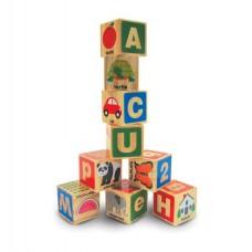 """Дерев'яні блоки """"Цифри / Букви"""" Melissa&Doug (MD2253)"""