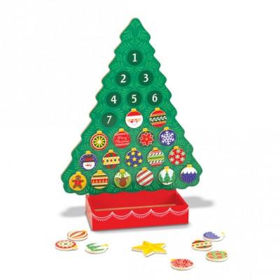 Новорічний дерев'яний магнітний календар Melissa&Doug (MD13571)