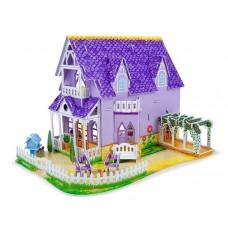 Пазл Melissa&Doug 3D Фиолетовый домик (MD9461)