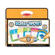 """Чарівна водна розмальовка """"Цифри, форми, колір"""" Melissa&Doug (MD5237)"""