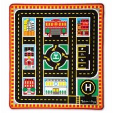 Игровой коврик с машинками Спасательные автомобили Melissa&Doug (MD19406)