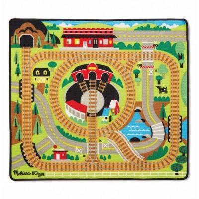 Ігровий килимок з паровозиками