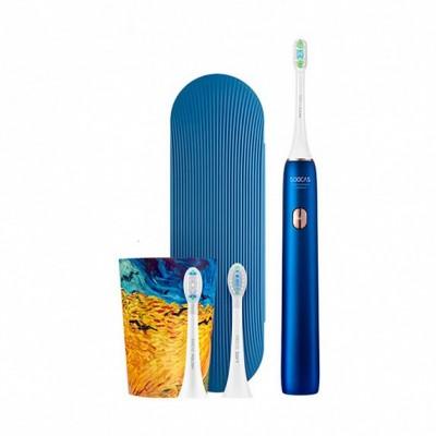 ⇨ Зубные щетки и ирригаторы | Электрическая зубная щетка SOOCAS Van Gogh Museum Design Sonic Electric Toothbrush X3U Ocean Blue в интернет-магазине електроники ▻ ONETECHNO ◅