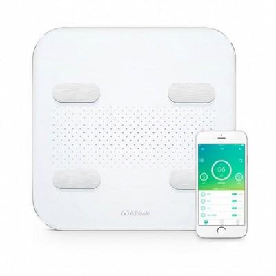 ⇨ Весы напольные | YUNMAI S Smart Scale White (M1805CH-WH) в интернет-магазине електроники ▻ ONETECHNO ◅