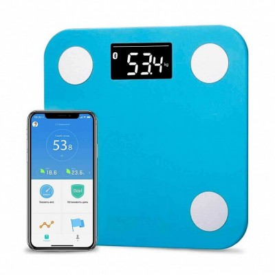 ⇨ Умные гаджеты | Весы YUNMAI Mini Smart Scale Blue (M1501-BL) в интернет-магазине електроники ▻ ONETECHNO ◅