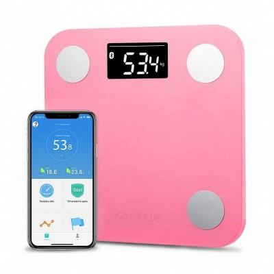 ⇨ Весы напольные | Весы YUNMAI Mini Smart Scale Pink (M1501-PK) в интернет-магазине електроники ▻ ONETECHNO ◅