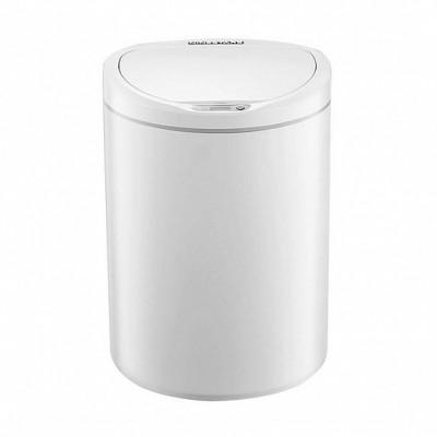 ⇨ Товары для дома | Умная корзина для мусора Xiaomi Ninestars Sensor Trash Can White (DZT-10-29S) в интернет-магазине електроники ▻ ONETECHNO ◅