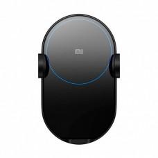 Автодержатель+ беспроводная зарядка Xiaomi Mi Qi Car Wireless Charger Black 20W