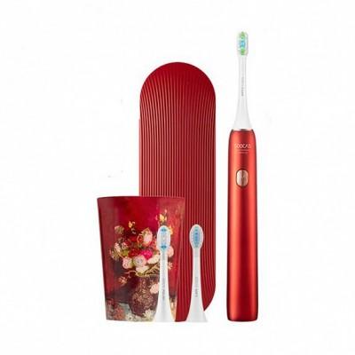 ⇨ Умные гаджеты | Электрическая зубная щетка SOOCAS Van Gogh Museum Design Sonic Electric Toothbrush X3U Chestnut Red в интернет-магазине електроники ▻ ONETECHNO ◅