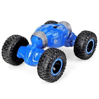 ⇨ Радиоуправляемые игрушки | Машинка перевертыш вездеход JJRC Q70 Drift Twist Blue в интернет-магазине електроники ▻ ONETECHNO ◅