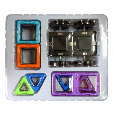 ⇨ Детские конструкторы | 3D магнитный конструктор МАГНІКОН, 46 дет. в интернет-магазине електроники ▻ ONETECHNO ◅