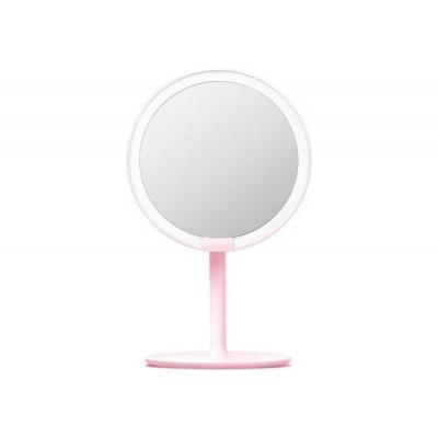 ⇨ Товары для дома | Зеркало для макияжа XIAOMI AMIRO (AML004W) Pink в интернет-магазине електроники ▻ ONETECHNO ◅